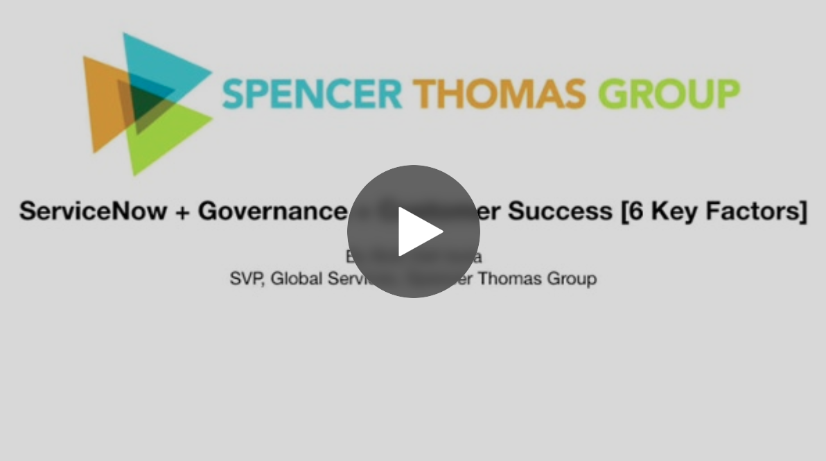ServiceNow + Governance = Customer Success [6 Key Factors]